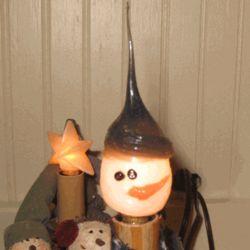Silicone Snowman Bulb