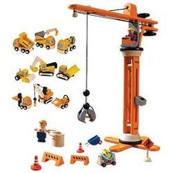 11-Piece Plan City Crane Set