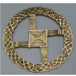 St. Bridget Cross Wall Hanging