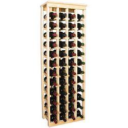 Wooden 48 Bottle Kitchen Wine Rack Storage Kit