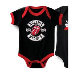 Rolling Stones Baby Bodysuit