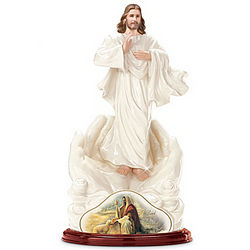 The Lord is My Shepherd Jesus Christ Figurine