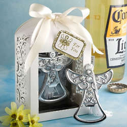 Angel Design Bottle Opener Favor