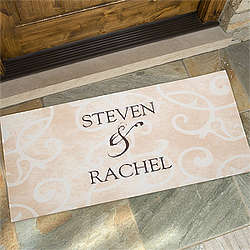 Sentiments of the Home Oversized Doormat for Couples