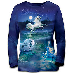 Land of Enchantment Unicorn Women's Shirt