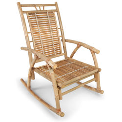 Colonial Bamboo Rocker