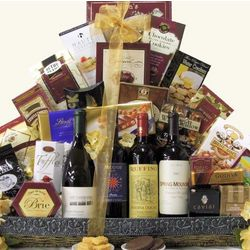 Italian American Collection Wine Gift Basket