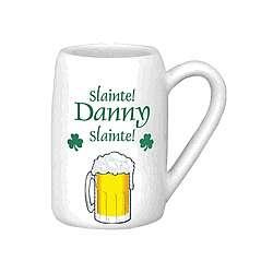 Personalized Irish Beer Mug