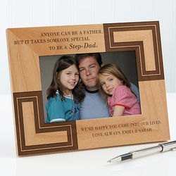 You Are Like a Dad Personalized Step Father Picture Frame