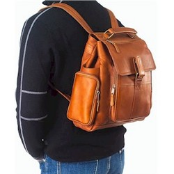 Urban Survival Leather Backpack