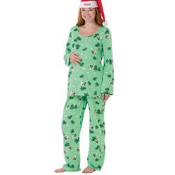 Let it Snow, Man! Maternity Pajamas