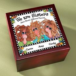 We Are Sisters Tile Box
