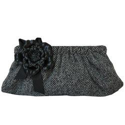 Tiffany Tweed Clutch