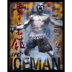 Chuck 'Iceman' Liddell Lithograph Print