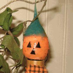 Silicone Dipped Pumpkin Bulb