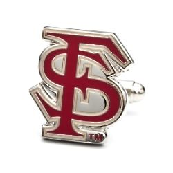 Florida State University Seminoles Enamel Cufflinks