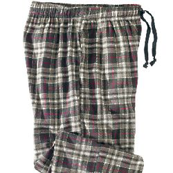 Men's Heather Flannel Pants