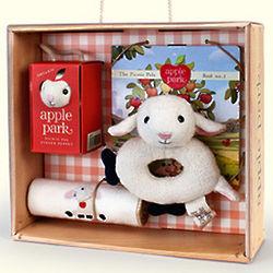 Lamby Baby Gift Basket