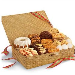 Bakery Assortment in a Woven Basket Box