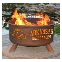 Arkansas Razorbacks Fire Pit