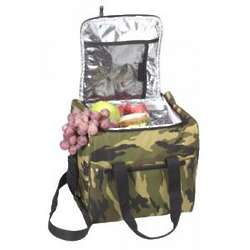 Woodland Camo Insulated Bag