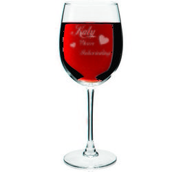 You're Intoxicating Hearts Wine Glass