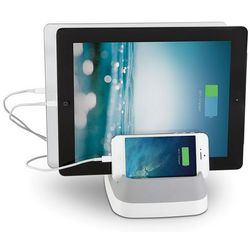 Cord Storing Three Device Charger