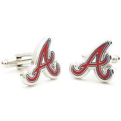 Atlanta Braves Enamel Cufflinks