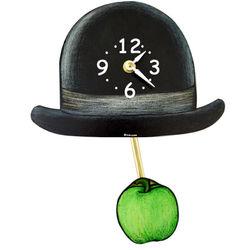 Surrealist Hat Pendulum Clock