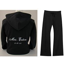 """Mrs."" Personalized Hoodie & Pant Set"