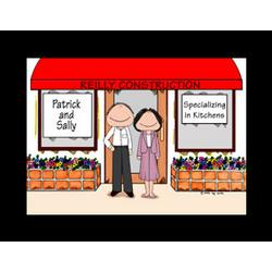Personalized Entrepreneur Cartoon
