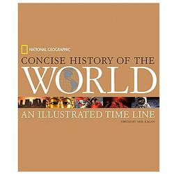 Concise History of the World Hardcover Book