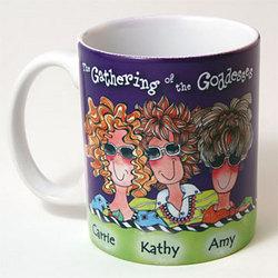 We Are Sisters Goddesses Coffee Mug