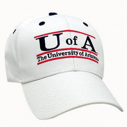 Arizona Wildcats 'The Game' Classic White Bar Adjustable Hat