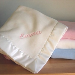 Personalized Deluxe Crib Blanket
