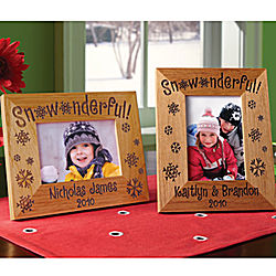 Personalized Snowonderful Frame