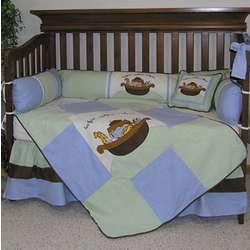 Noah's Ark Baby Crib Bedding Set