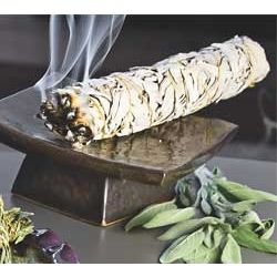 White Sage Wildcrafted Smudge Stick