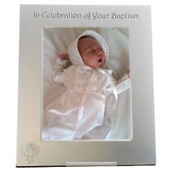 Baptism Silver Metal Frame