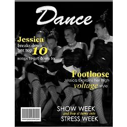 Dance Personalized Magazine Cover
