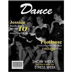 Dance Personalized Magazine Cover