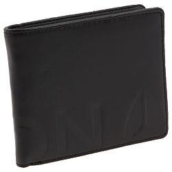 Leather Fuller Bi-Fold Zip Wallet