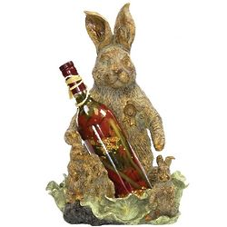Bunny Rabbit Wine Holder