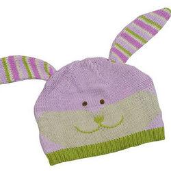 Cuddly Knit Bunny Hat