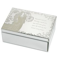 Angel Mirror Jewelry Box