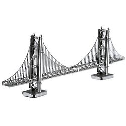 Golden Gate Bridge Metal 3D Model