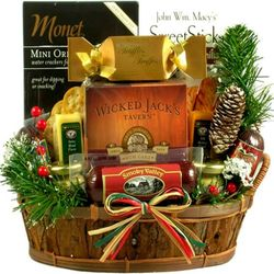 It's a Guy Thing Gift Basket for Men