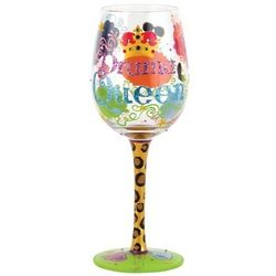 Drama Queen Wine Glass