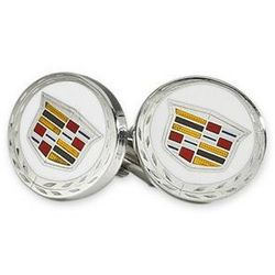 Cadillac Shield Logo Cuff Links