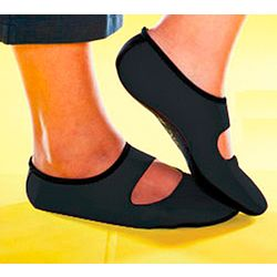 Black NU Foot Slip-Ons